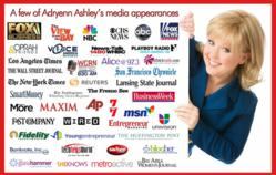Adryenn Ashley of Wow! Is Me has appeared over 300 times in the media