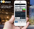 GOptions Binary Options  iPhone app