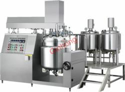 production vacuum emulsifying mixer