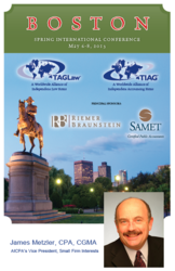 James Metzler of the AICPA to Present at TIAG International Accounting Conference