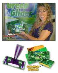 Tanya Lewis and Green Glider