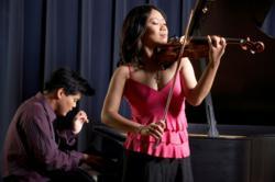 Winston Choi, piano, Minghuan Xu, violin (Chicago)