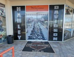 FaceLube Harley-Davidson Hawaii Cycle City Entrance