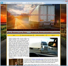 Truck Accident Attorney Website