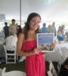 Author Lisa Hartman promoting Hampton Dogs