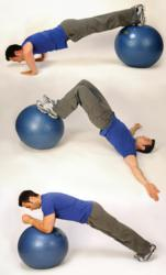 Exercise ball | lose weight | Herbal Magic.