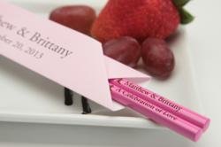 Personalized chopsticks and personalized chopstick sleeves
