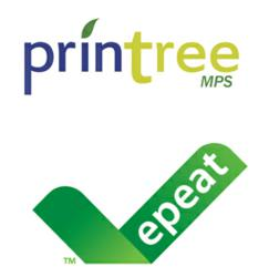 PrinTree and EPEAT Logo