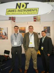James Instruments Inc. at Bauma 2013