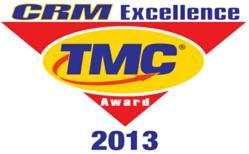 2013 CRM Excellence Award Winner