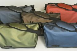 The Sling—six color choices & two sizes; Silver, Red, Brown, Green, Blue (Black not pictured)