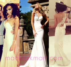 Shahs of Sunset celebrity Lilly Ghalichi in Tarik Ediz 92092 dress