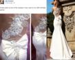 Lilly Ghalichi's Birthday Dress by Designer Tarik Ediz
