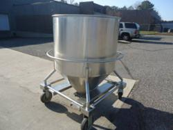 300 Gallon B & G Stainless Steel Tote Tank
