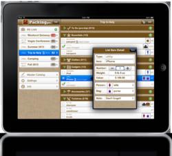 Packing Pro 9.0 on iPad