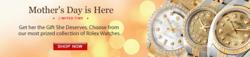 Ladies Rolex Datejust Time and Gems Mothers day sale