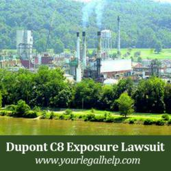 If you believe you or a loved one have been exposed to C8 water pollution, Contact the C8 Lawyers at yourlegalhelp.com or by calling 1-888-399-0795 for a FREE C8 lawsuit case evaluation.