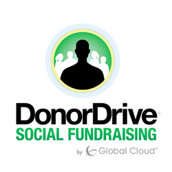 DonorDrive Social Fundraising Software Logo