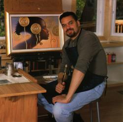 2013 American Academy of Art Distinguished Alumnus Winner, Thomas Blackshear.