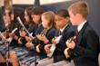5th and 6th Grade Ukelele Players in Concert for Mother's Day at Everest Academy