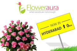 Now send flowers to Hyderabad using FlowerAura