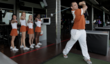 University of Texas Cheer Squad tries TopGolf