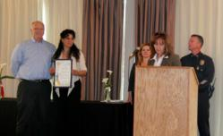 Narconon Drug Educators awarded by LAPD