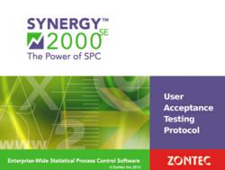 Zontec's Synergy SPC Software Validation