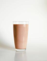 Chocolate Milk Sweetened With All Natural Fructevia Stevia Sweetener
