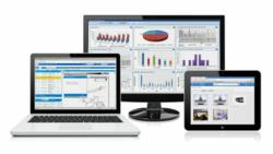 Electronic parts catalog with tablet compatibility and Dashboard Reporting