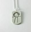 The Gift Insider Puts Spotlight on Childs Artwork Pendants from Metal...