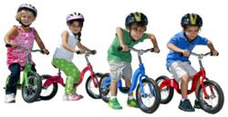 Designed for children ages 3 and up, the KaZAM bike offers a better solution for toddlers learning how to ride a bike.
