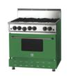 BlueStar High-Performance Range in Emerald Green, Pantone Color of the Year BlueStar Emerald Green Range - One of 750 Colors