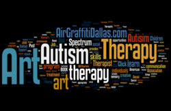 Air Graffiti Dallas Supports Autism Art Therapy Program