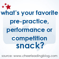 Cheerleading Blog Releases Snack Poll Results