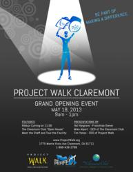 Project Walk Claremont Grand Opening