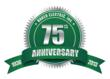Baker Electric, Inc. celebrates 75 years of business in 2013.