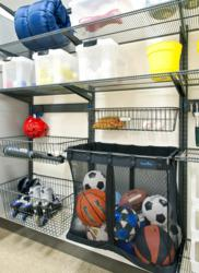 Organized Living freedomRail Garage Shelving