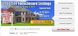 Police Auctions website Policeauctions.com 3.1 million foreclosures
