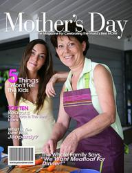 Last Minute Mother's Day Gift - a Personalized Magazine Cover from YourCover