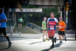 Veteran runs with Team Hope For The Warriors