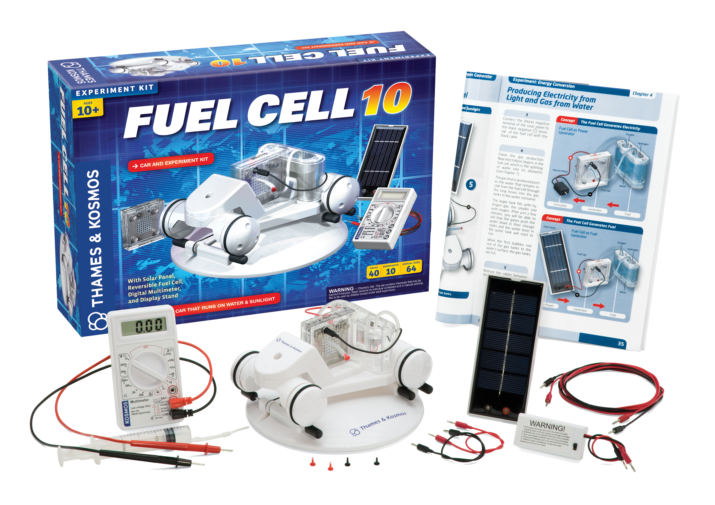 Model Hydrogen Fuel Cell Cars Kids Close the ...