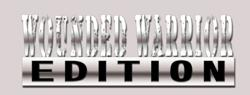 Wounded Warrior Edition emblem for trucks and cars