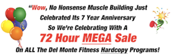 No Nonsense Muscle Building Mega Sale
