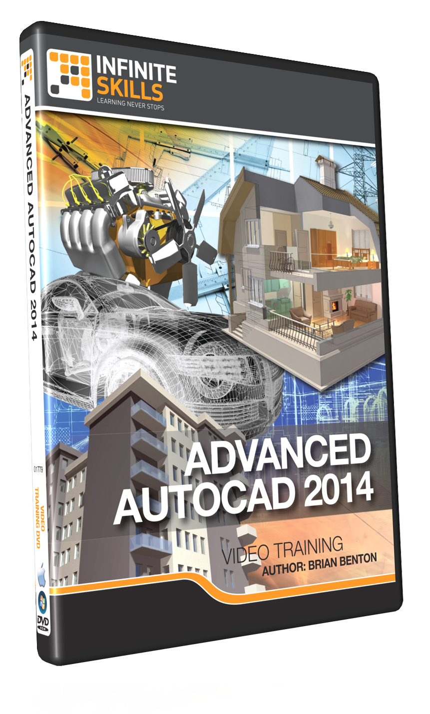 Infiniteskills advanced autocad 2014 tutorial takes cad skills infiniteskills advanced autocad 2014 tutorial takes cad skills to the next level baditri Image collections