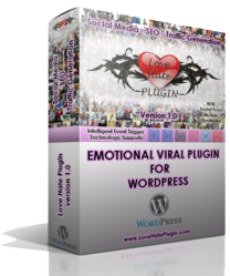 Love hate viral and social media plugin for wordpress
