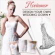 custom wedding dress from Noviamor