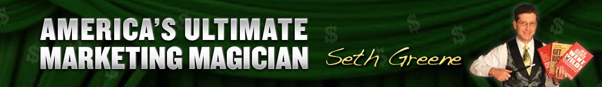Marketing consultant seth greene