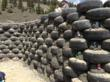Earthship - rammed earth tire wall