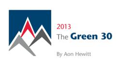 The Green 30 2013 Logo
